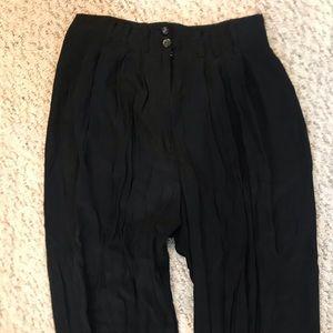 Express loose flowy black pants